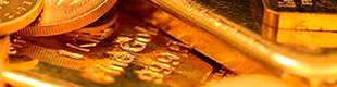 Gold rises to two-week high amid Trump concerns